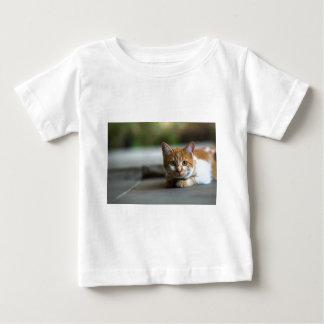 Orange tabby kitten. baby T-Shirt