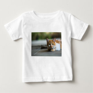 Orange tabby kitten. baby T-Shirt