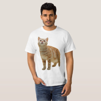 Orange Tabby Kitten Shirt