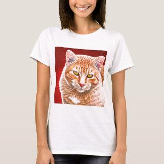Orange Tabby Painting T-Shirt