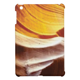 orange tan sun rocks iPad mini cover