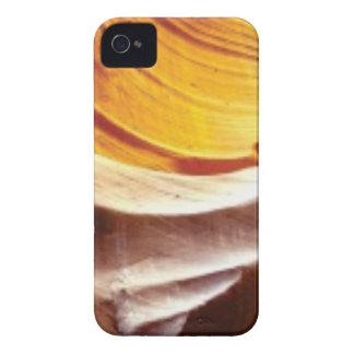 orange tan sun rocks iPhone 4 cover