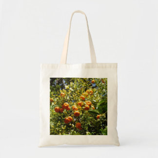 Orange Tangerine Tree Tote Bag