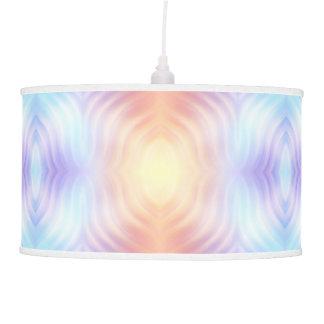Orange Teal Lavender Hanging Pendant Lamp