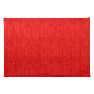 Orange Texture Print Cloth Placemats