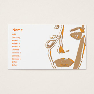 Orange Thinking - Business Business Card