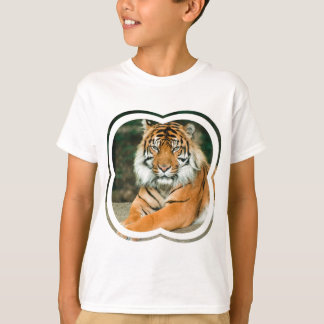 Orange Tiger Kid's T-Shirt
