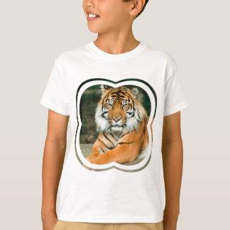 Orange Tiger Kid's T-Shirt