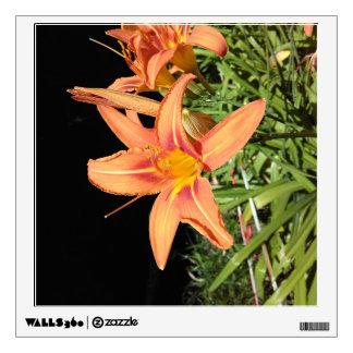 Orange Tiger Lilies Wall Sticker