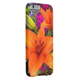Orange tiger lily iPhone case