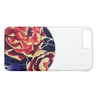 orange to flower iPhone 8 plus/7 plus case
