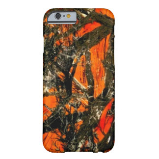 """Orange Tree Branch Camouflage"" Barely There iPhone 6 Case"
