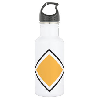Orange Triangle Water Bottle