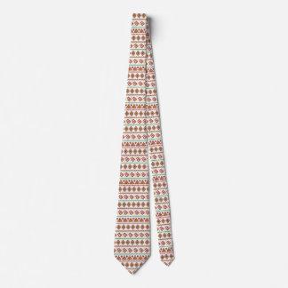 Orange Tribal Style Tie