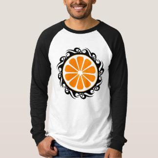 orange. tribal. T-Shirt