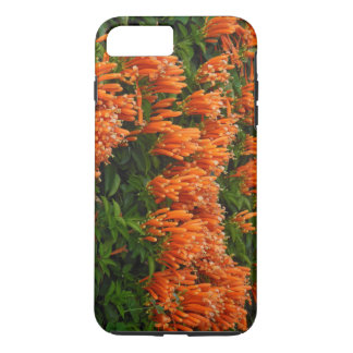 Orange Trumpet Vine iPhone 7 Plus Case