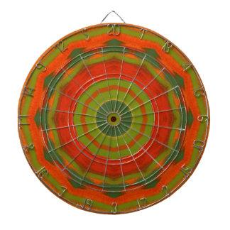 Orange Twirl Dartboard