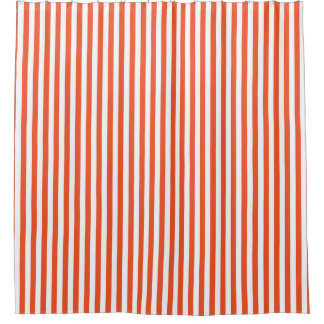 Orange Vertical Stripe Design
