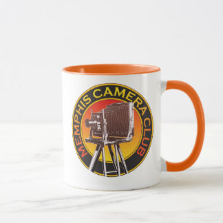 Orange View Camera Logo 11 oz Ringer Mug