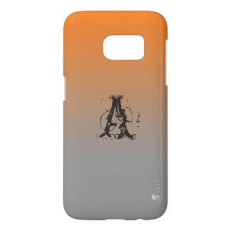 Orange Vista Ombre Custom Samsung Galaxy S7 Case