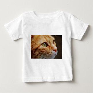 Orange White Cat Baby T-Shirt