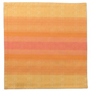 orange white reason abstracts smart modern elegant napkin