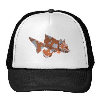 Orange-White Spotted Catfish Trucker Hat