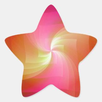 orange Windmill created by Tutti Star Sticker