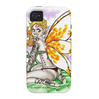 Orange Winged Fairy Case for iPhone4 Case For The iPhone 4
