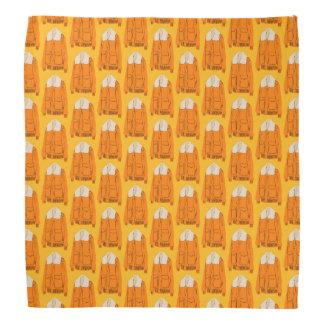 Orange Winter Jacket Bandanas