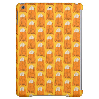 Orange Winter Jacket Cover For iPad Air