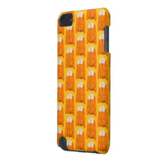 Orange Winter Jacket iPod Touch (5th Generation) Cases
