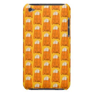 Orange Winter Jacket iPod Touch Case-Mate Case