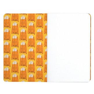 Orange Winter Jacket Journal