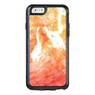 Orange Wolf iPhone 6/6s Otterbox Case