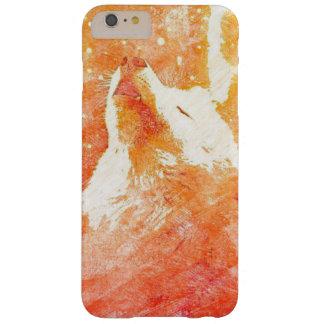 Orange Wolf iPhone 6/6s Plus Phone Case