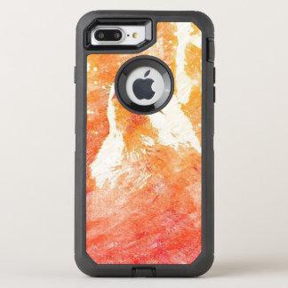 Orange Wolf iPhone 8/7 Plus Otterbox Case