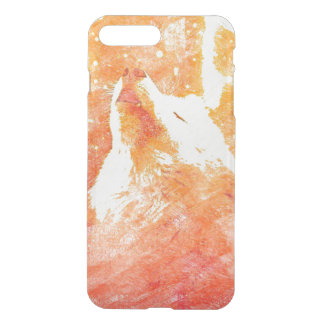 Orange Wolf iPhone 8 Plus/7 Plus Clearly™ Case