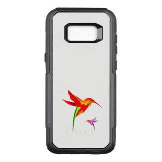 Orange Yellow And Green Hummingbird OtterBox Commuter Samsung Galaxy S8+ Case