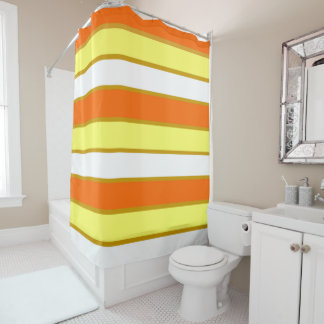 Orange, Yellow and White Stripes