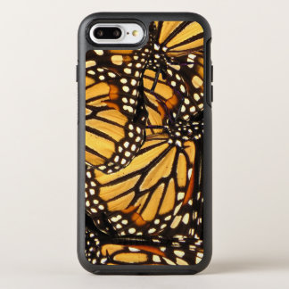 Orange Yellow Black Monarch Butterfly Abstract OtterBox Symmetry iPhone 7 Plus Case