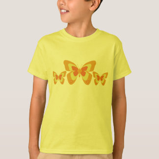 Orange & yellow butterfly T-Shirt