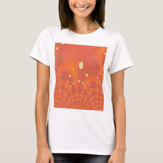 Orange Yellow Fantasy Worlds Creation T-Shirt