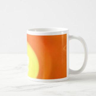 Orange Yellow Flame Candle Light, Art Coffee Mug
