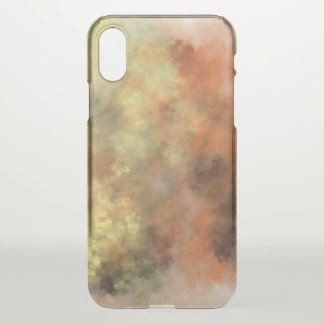 Orange, Yellow & Gray Mist-Like Pattern Phone Case