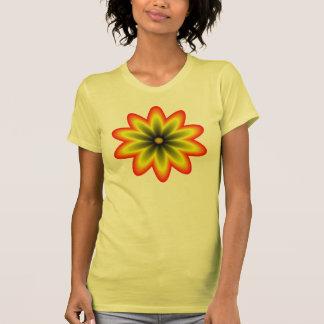 Orange Yellow Psychedelic Mandala T Shirts