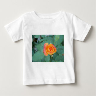 orange yellow rose flower baby T-Shirt