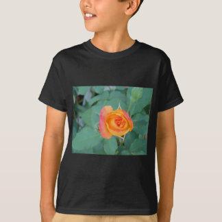 orange yellow rose flower T-Shirt