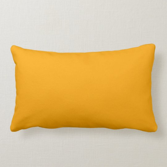 Orange Yellow Solid Decorative Throw Couch Pillows