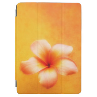 Orange Yellow Tropical Plumeria Hawaiian iPad Air Cover